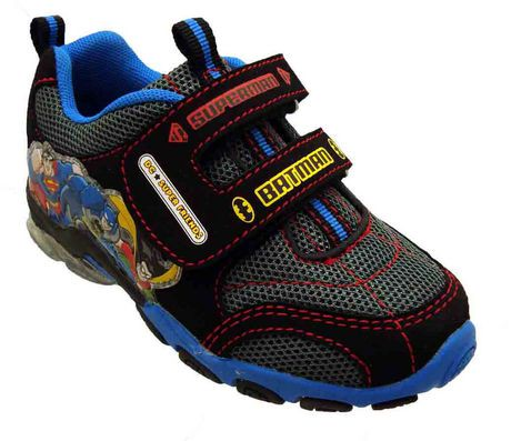 DC Super Friends Toddler Boys Athletic Shoe with Lights
