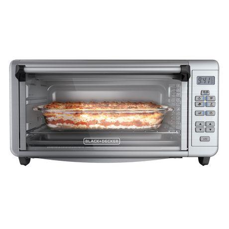 Black Decker Silver Toaster Oven Walmart Ca