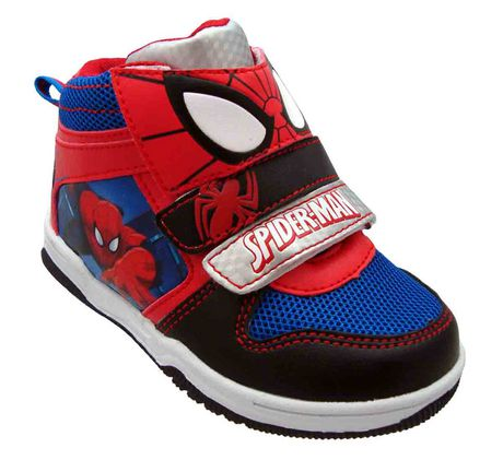 Spider man Toddler Boys High Top Shoes