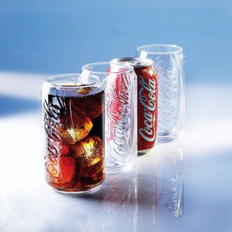 Luminarc coca cola glasses set box of 4x12 oz - Verre coca cola luminarc ...