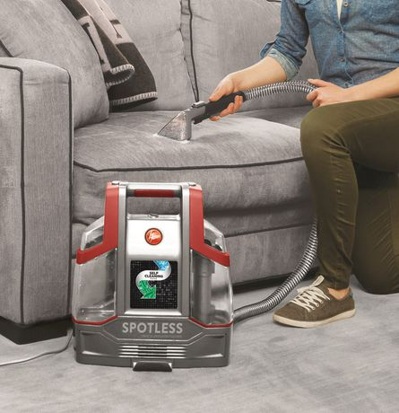 hoover spotless portable carpet upholstery cleaner. Black Bedroom Furniture Sets. Home Design Ideas