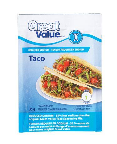 M lange d 39 assaisonnement doux pour tacos de great value for Assaisonnement tacos maison