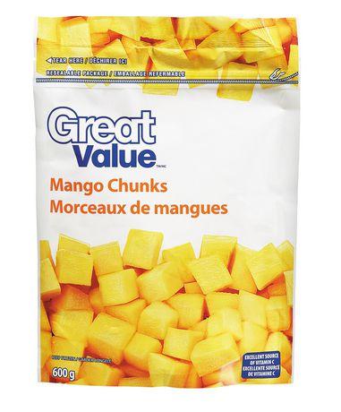 Great Value Frozen Mango Chunks | Walmart.ca