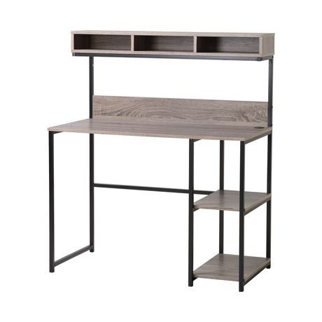 bureau pour ordinateur portable avec bahut de homestar walmart canada. Black Bedroom Furniture Sets. Home Design Ideas