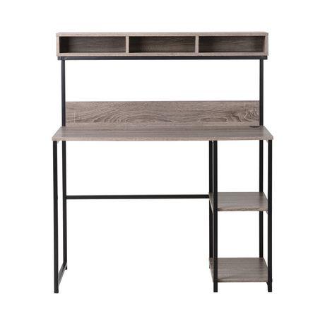bureau pour ordinateur portable avec bahut de homestar walmart canada. Black Bedroom Furniture Sets. Home Design Ideas