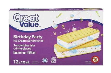 Where To Buy Blue Bunny Birthday Cake Ice Cream Sandwiches