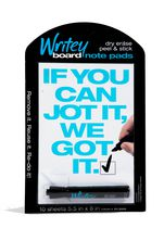 Writeyboard 10 Dry Erase Notepads