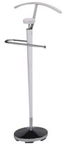 Worldwide Homefurnishings Wood valet stand - white