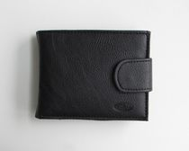 Antonio Nicci Mens Slimfold with Coin Pocket and ID Window