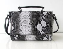 Nicci Ladies Snake Print Messenger Bag