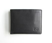 Nicci Mens Leather Slimfold Wallet with Removable ID