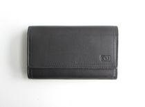 Nicci Ladies Leather Slim Clutch Wallet