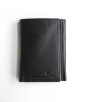 Nicci Mens Leather Trifold Wallet