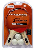 Ping Pong 2 Player Table Tennis Set