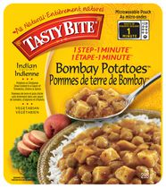 Tasty Bite 1 Step - 1 Minute Indian Cuisine Bombay Potatoes