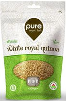 Pure Organic Foods White Royal Quinoa
