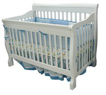 Kidilove Tammy 4-in-1 Baby Crib White