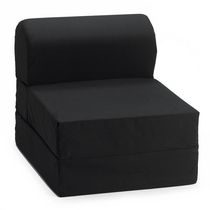 Comfy Kids Flip Chair - Black