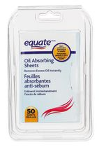 Feuilles Absorbantes Anti-Sébum de equate