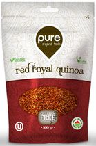 Pure Organic Foods Red Royal Quinoa