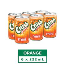 Boisson gazeuse Crush Orange