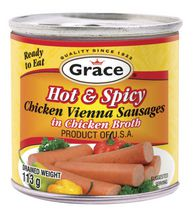 Grace Hot Saucisse Viennoise