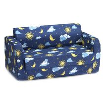 Comfy Kids Flip Sofa - Moon & Stars