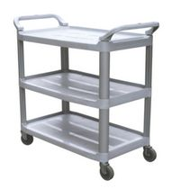 DuraPlus® Large Utility Cart Gray