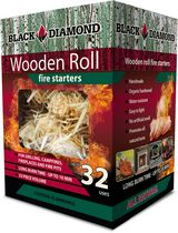 Black Diamond CharWood Wooden Roll Fire Starters - BDS32