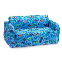 Comfy Kids Flip Sofa - Swirls