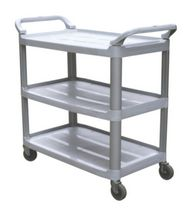 DuraPlus® Small Utility Cart Gray