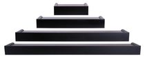 Vertigo 4Pc Ledge Set - Black