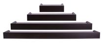 Vertigo 4Pc Ledge Set - Espresso