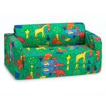 Comfy Kids Flip Sofa - Animals