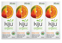 Kiju - Jus biologique mangue et orange