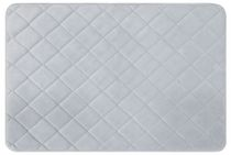 Mainstays Memory Foam Diamond Rug Blue