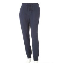 George Men's French Terry Jogger Navy L/G
