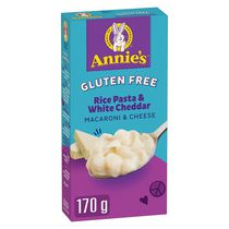 Annie's Homegrown Macaroni & Cheese Gluten Free Rice Pasta & White Cheddar