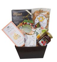 Panier-cadeau Passion de gourmet de Baskets by On Occasion