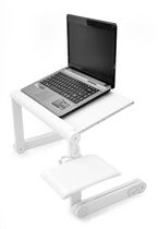 T-Zone XT Standing Desk Top Extender - white