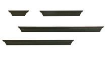 4 Piece Ledge Set - Black