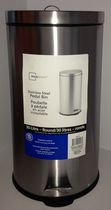 Mainstays 30L Stainless Steel Round Can