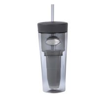 ZeroWater® Silver Tumbler  With Ion Exchange Filter
