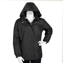 George Plus Women's Hooded Jacket Navy 1x