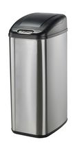 Nine Stars Motion Sensor Slim Touchless 13.2-Gallon Trash Can