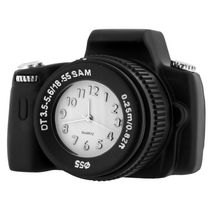 Deluxe Digital Camera Collectible Mini Desktop Clock
