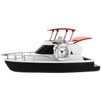 Deluxe Yacht Collectible Desktop Mini Clock