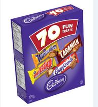 Cadbury Chocolate Assorted Fun Treats Candy