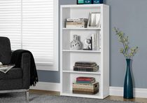"Monarch Specialties Bookcase  - White, 48""H"