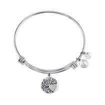 Love This Life Bangle Plated Sisters